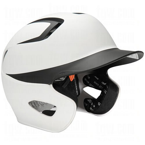 Easton Stealth Grip Two-Tone Batting Helmets M/L (6 3/4-7 1/2) White/Black by Easton