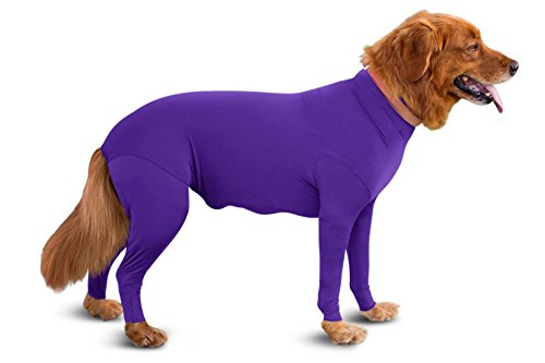 Onesie/Grooming -Contains The Shedding Dog Hair, Reduce Anxiety, Replace Medical Cone ()