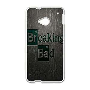 HTC One M7 Phone Cases White Breaking Bad BCH015221