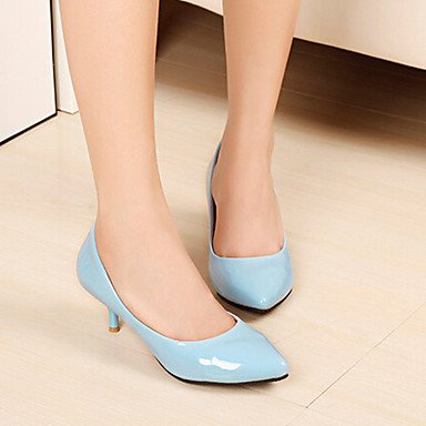 Enclosed Absätzeplateauspitzschuhges High Casual Heels Ladies Cirior Shoes Faux Heels Toe Heel Shoes High White Low Womens Leather Court Axq1zv