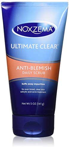 Facial Cleanser: Noxzema Anti-Blemish Daily Scrub