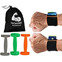 Wrist Wallet + Silicone Water Bottle Carrier | Running...