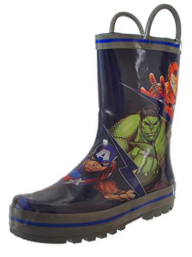 Favorite Characters Unisex Avengers Rain Boot (Toddler/Little Kid) Multi 11 M US Little Kid