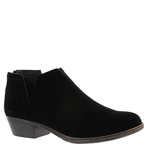 Sugar Women's Tessa Ankle Bootie 6 Black Velvet