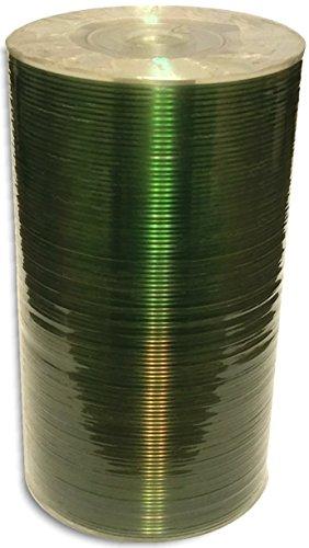 100-Pak MBI (Moser Baer) 3-Inch Mini Silver Top 24X 8cm CD-R's & Sleeves! LYSB00HJA3876-CMPTRACCS