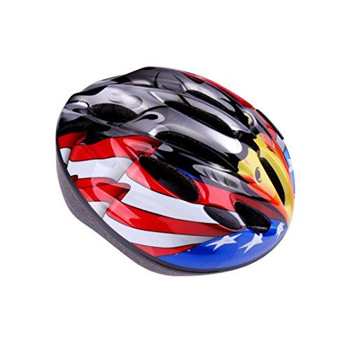 ZYooh Child Helmet,Impact Resistance Safe Helmet with Ventilation for Multi-sports Cycling Skateboarding Scooter Roller Skate Inline Skating Rollerblading Longboard (eagle) ()