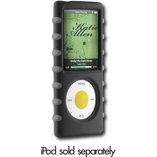 Digital Lifestyle Outfitters Jam Jacket Trek for iPod nano 4G -Black/Gray - Dlo Surface Shields