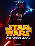 Star Wars Coloring Book: All Characters in Star Wars with 50+ Illustrations for Kids and Adults