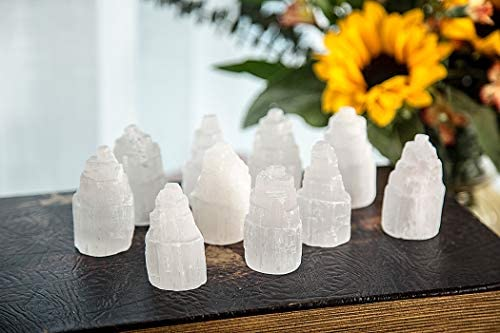 JIC Gem Selenite Skyscraper Crystal product image