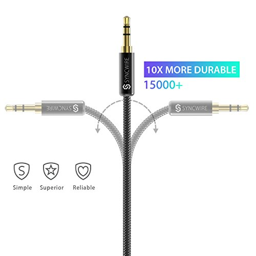 Buy aux cable for sound quality