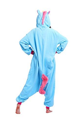 Magicmode Animal Adulto Kigurumi Unicornio Traje De Cosplay De Anime Enterizo Sudadera con Capucha De Pijamas Ropa De Dormir: Amazon.es: Ropa y accesorios