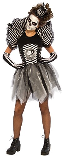 Rubie's Costume Co Sassy Skeleton Costume, Multicolor, S