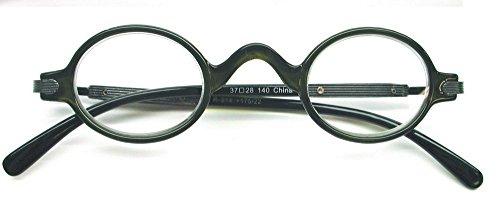 El profesor de estilo vintage gafas de lectura, 1.00, verde