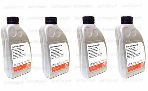 Febi Bilstein Mercedes Hydraulic Fluid 4L for Convertible Top Pump & Hydropneumatic Suspension