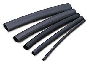 Ancor 307148 Marine Grade Electrical Adhesive Lined Heat Shrink Tubing (1-Inch Diameter, 48-Inches Long, Black)