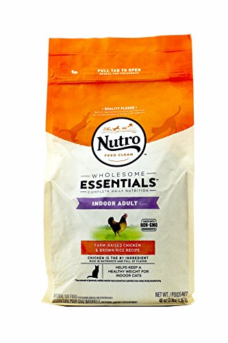 Natural Choice Indoor Adult Cat Dry Cat Food, Chicken And Whole Brown Rice, 3 Lbs.