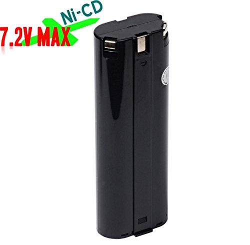 Battery Pack For Cordless Power Tool:Makita 1916799, 191679-9, 1925322, 192532-2, 192695-4, 193888-6, 6320024, 632002-4, 6320032, 632003-2, 7000, 7001, 7002, 7033 7.2V Ni-CD 1.5Ah Black by PowerDuplex ?