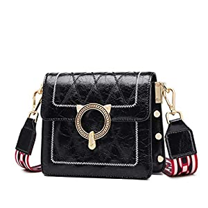 Small Genuine Leather Crossbody Bags for Women, Ladies Shoulder Messenger Bags