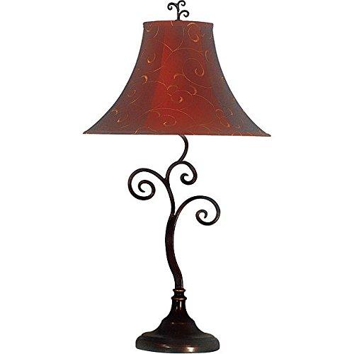 Circus Lamp - Siam Circus Ramone 30-inch Bronze Table Lamp