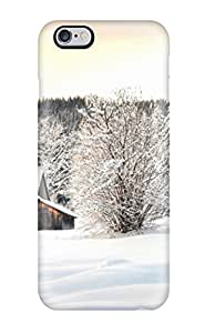 Durable Winter Earth Nature Winter Back Case/cover For Iphone 6 Plus