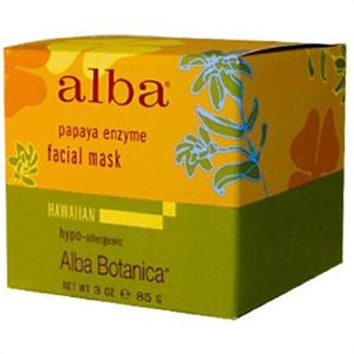 Alba Botanica Hawaiian Facial Mask, Pore-fecting Papaya Enzyme 3 oz ()