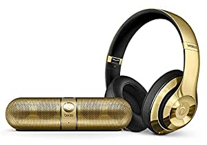 Beats Studio Wireless Gold and Pill 2.0 Portable Bluetooth Speaker