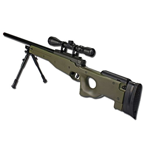 0.9 JOULE WELL FUCILE A MOLLA MAUSER SL86 FULL SET OD MB01 SOFTAIR