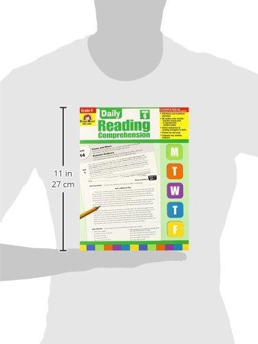Amazon.com: Daily Reading Comprehension, Grade 6 (0023472034564 ...