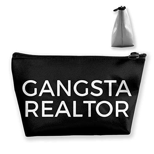 (Wodehous Adonis Funny Gangster Realtor Cosmetic Bags Portable Travel Makeup Pouch Toiletry)