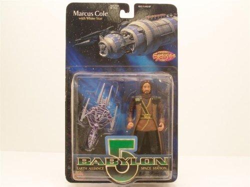Babylon 5 Marcus Cole 6in Figure w/White Star