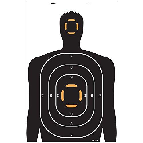 rifle targets human - 8