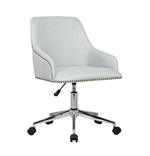 Decorative Desk Chairs - Porthos Home Delilah Office Chair, Gray