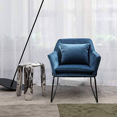 Best living room chair: JAXPETY Velvet Accent Chair Single Sofa Chair