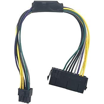 Amazon com: Eyeboot 24 Pin to 8-Pin Power Supply ATX PSU