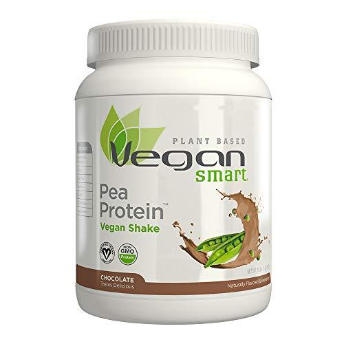 Naturade Plant Based Vegansmart Vegan Pea Protein - Chocolate - 20.6 oz