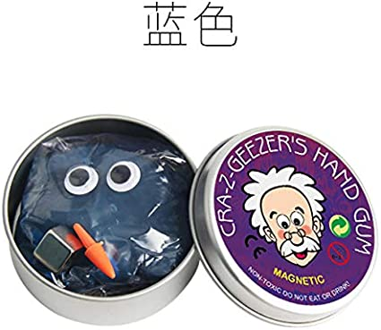 DIY Making Kit Fluffy Cloud Soft Non Sticky Favor-004 Magnetic Slime, Stress Release for Adults Fun Toy for Girls Boys Kids Age 8+ Purple