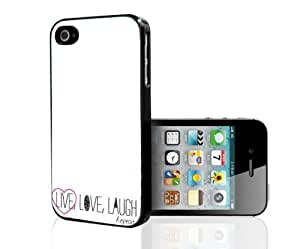 Live, Laugh, Love and Repeat Hard Snap on Phone Case (iPhone ipod touch4)