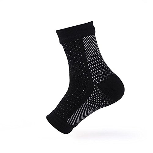 Compression Foot Sleeves, Plantar Fasciitis Socks with Arch Support, Better than Night Splint, Eases Swelling & Heel Spurs, Ankle Brace Support, Increases Circulation, Relieve Pain Fast