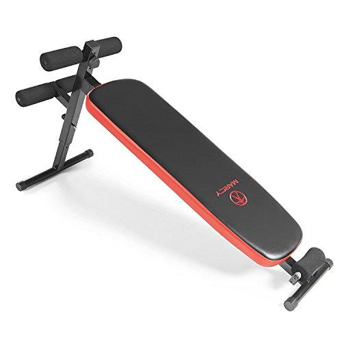 Marcy Utility Slant Board w/ Headrest – Folding Design with Adjustable Positions SB 4606