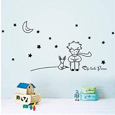 Mhdxmp Alta Calidad Estrellas Luna El Principito Niño Etiqueta De ...