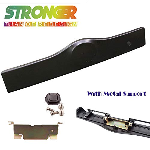 Rear Exterior Tailgate Liftgate Handle Garnish For 04-09 Toyota Prius Non Painted Black NPB 2004 2005 2006 2007 2008 2009