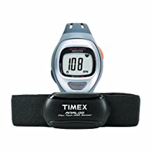 Timex Unisex Easy Trainer Analog HRM Flex Tech Chest Strap & Mid-Size