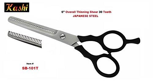 "6"" Kashi Professional Hair Dressing Thinning Hair Shears"