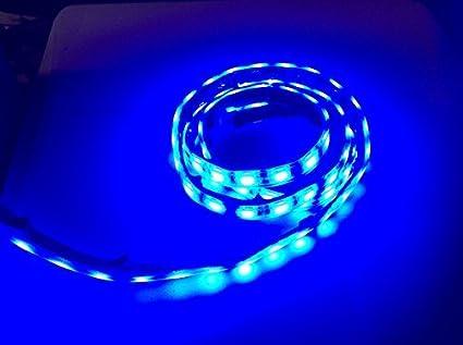 Amazon marine submersible led light strip 12v 2ft blue led marine submersible led light strip 12v 2ft blue led rope lights waterproof led lights aloadofball Choice Image