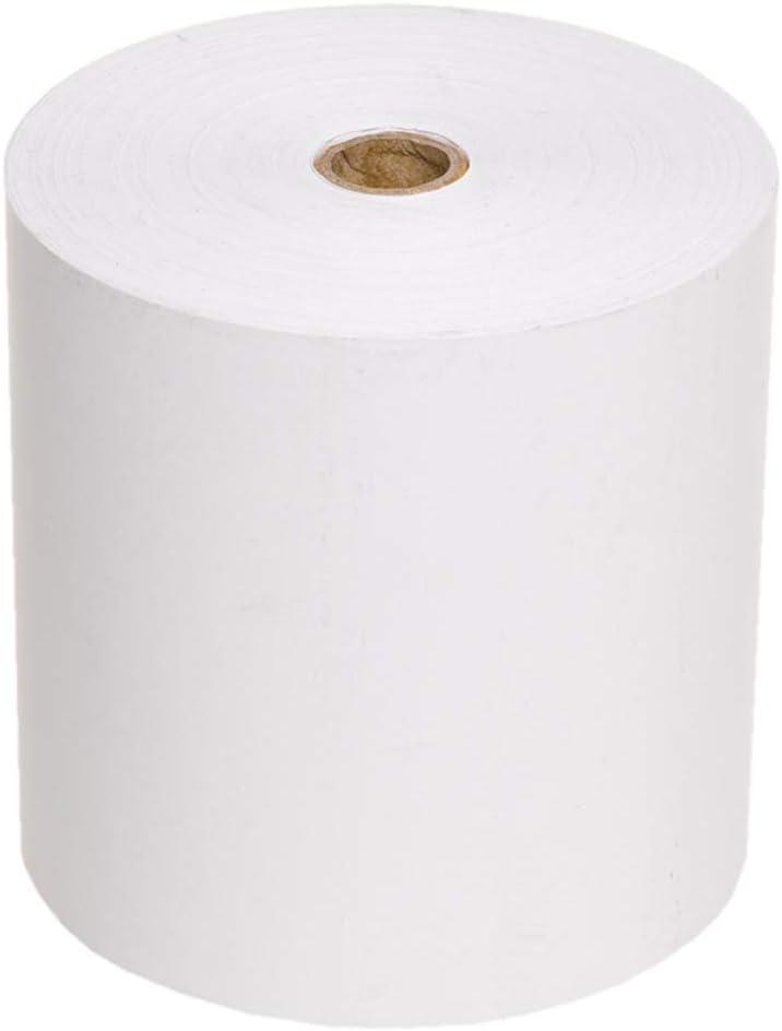 Pack 8 Rollos Papel Termico S/BPA Medidas 80x60x12mm