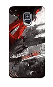 Crazinesswith Tpu Protector Snap GJQYEOC580lWfBr Case Cover For Galaxy S5 BY icecream design