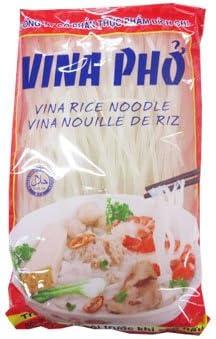 Amazon | ビッチ ベトナムフォー 2.5mm 400g X2袋 セット (グルテンフリー お米のうどん ライスヌードル 業務用) (米麺 米粉麺) (ベトナム料理) ハラル認証(HALAL) | Earthink | ライスヌードル 通販