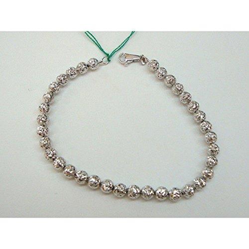 damiata Bijoux-Bracelet Femme en Or blanc Diamant 18carats