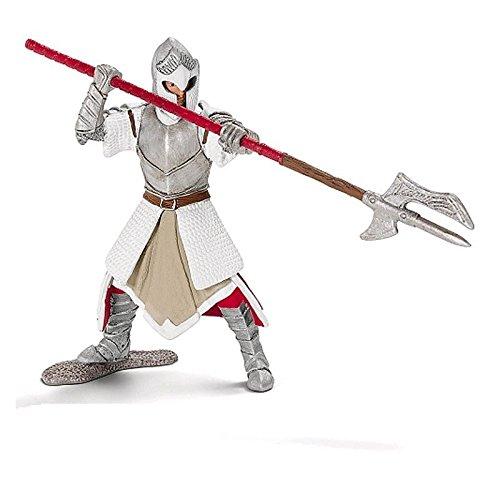Schleich Griffin Knight With Pole-Arm - World of History, Knights (Schleich Knights)