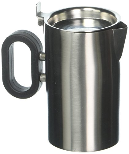 Mod18 Steelworks SB-26 Double Wall Creamer, 9 oz., Brushed Stainless (Creamer Double)